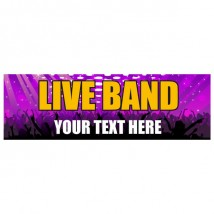Live Band - Banner 145