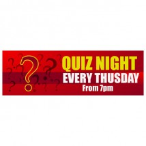 Quiz Night - Banner 160
