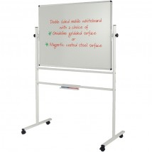 Sturdy steel framed Mobile Whiteboard