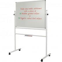 Sturdy steel framed Mobile Whiteboard
