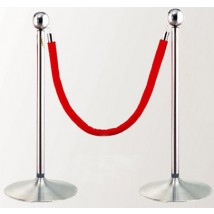 Crowd Control Rope and Post Stanchions
