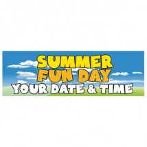 Summer Fun Day - Banner 162