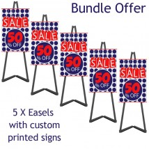 Portable Display Easel Bundle Offer