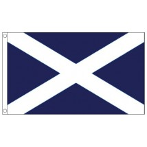St Andrew's Scotland Flag - 5ft x 3ft - Promotional
