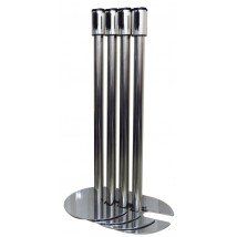 Stainless steel Stacking Belt Barrier