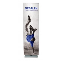 800mm Wide Tensioned Banner Stand
