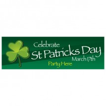 St Patrick's Day - Banner 167