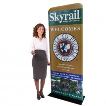 stretch fabric display stand