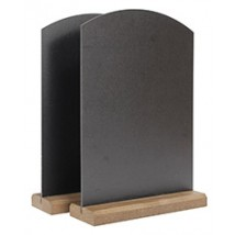 Ordinaire 2x Budget Table Top Chalk Boards