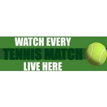 Watch Live Tennis - Banner 182