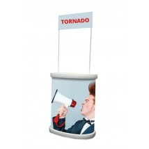 Tornado Outdoor Information Kiosk With Header