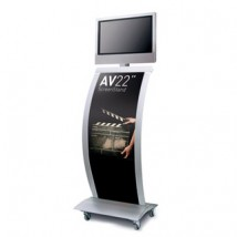 "24"" Exhibition TV Display Stand"