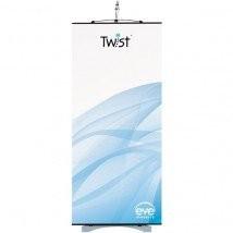 Twist premium banner stand