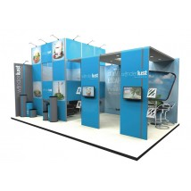 Large 8x5m exhibition stand