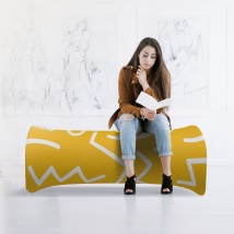 Printed Inflatable Exhibition Seating Bench