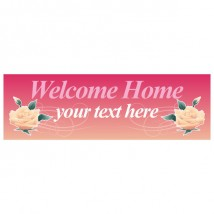 Welcome Home - Banner 172