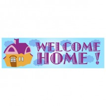 Banner - Welcome Home - 388
