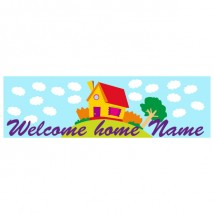 Banner - Welcome Home - 389