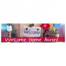 Banner - Welcome Home - 390