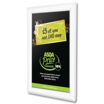 White Finish Snap Shut Poster Frame