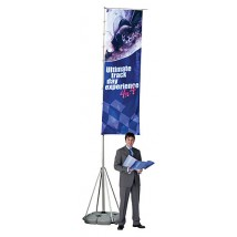 Giant Pole 4m portable flag