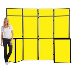 13 Panel Slimflex Portable display boards