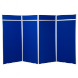 4 Panel Jumbo Folding Display - Aluminium Frame