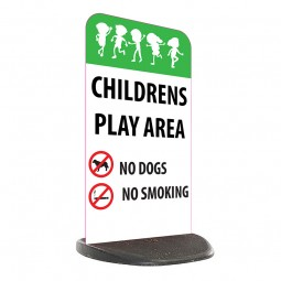 School Economy Pavement Sign - Children's Play Area