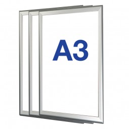 Box of 10 A3 Snap Frames