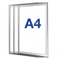 Box of 10 A4 Snap Frames