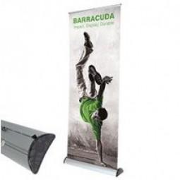 Barracuda banner stands