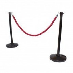 Black Economy Rope and Post Stanchions