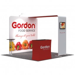 Fabric Marketing Stand - 3x3m