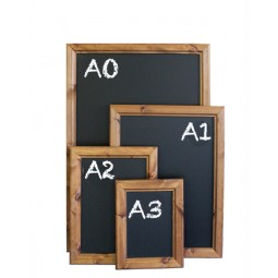 Wall mounted chalk boards