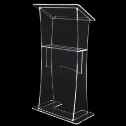 Clear Perspex Acrylic Lectern