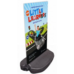 Outdoor Rigid Pavement Sign Holder