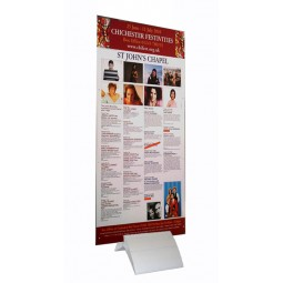 Delta Sign Holder Base with an optional printed formex panel