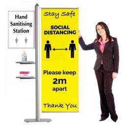 Dynamic Hand Sanitising Station