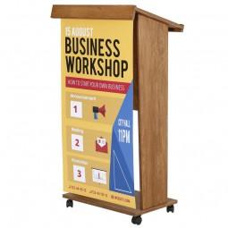 Economy Wooden Podium