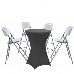 Folding event furniture package