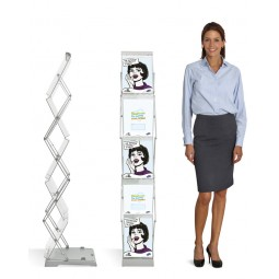 Literature Display - Compact Double Sided