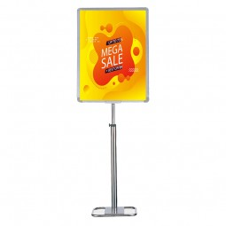 Large Floor Standing Poster Holder