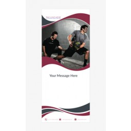 Fitness Banner 2 - Banner Stand 101