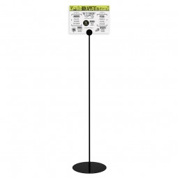 Floor Standing Frameless Poster Sign Holder