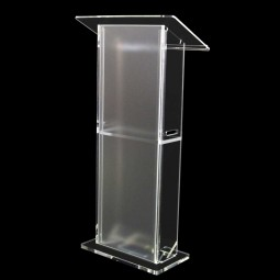 Folding Portable Acrylic Podium