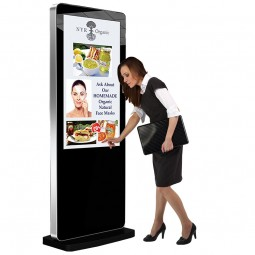 Freestanding Network Digital Display