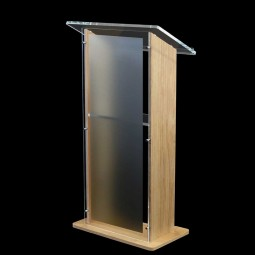 Stage Lectern - Frosted Front