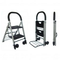 2 Step Hand Truck Step Ladder