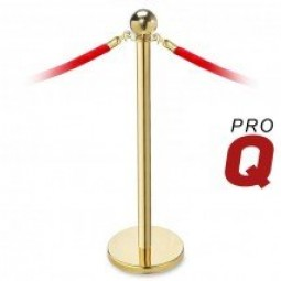 Gold Post Stanchion