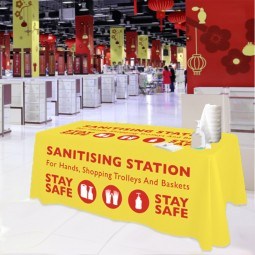 simple cost effective sanitising station